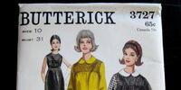 Butterick 3727 B