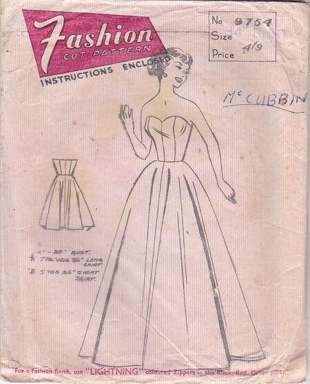 Pattern - Fashion Cut 9754 02