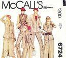 McCall's 6724 A