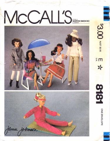 McCalls 1982 8181