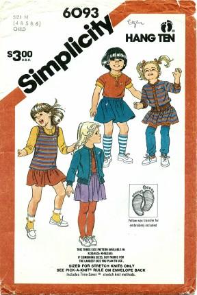 Simplicity 6093