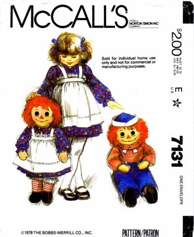 McCalls 1980 7131