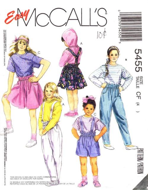 McCalls 1991 5455