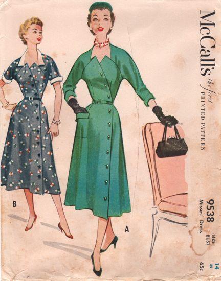 McCalls 9538 Dress