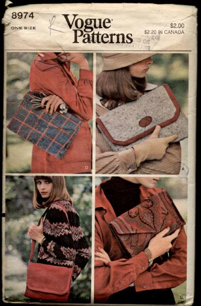 Vogue 8974 1970's
