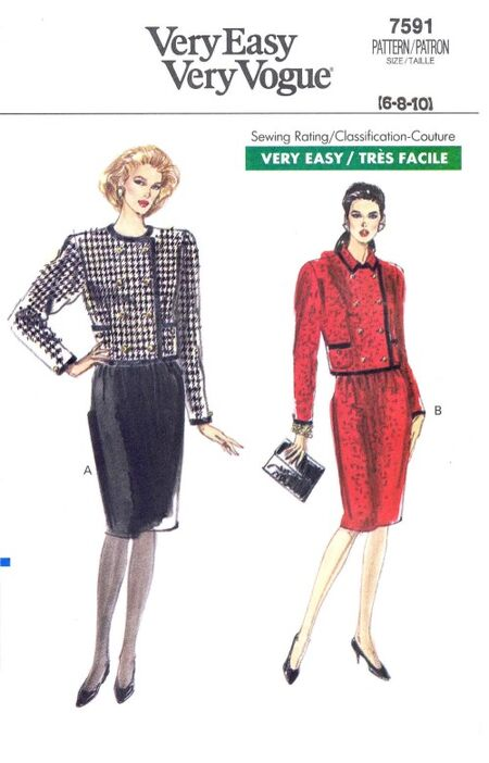 Vogue 1989 7591