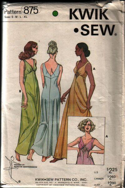 Kwik-sew 875 front