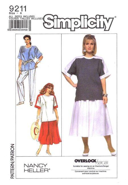 Simplicity 1989 9211