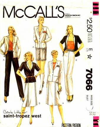 McCalls 1980 7066