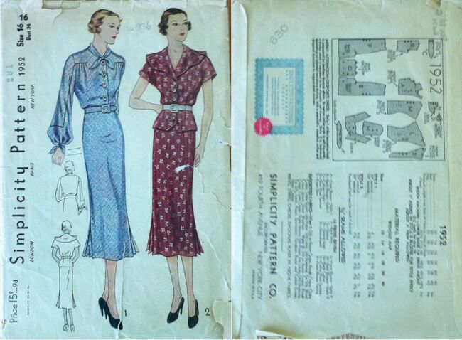 Simplicity 1952