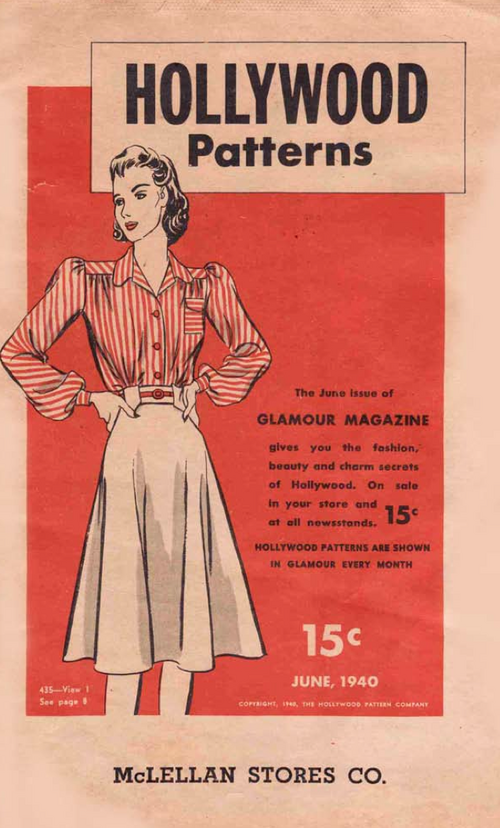 Hollywood Patterns June 1940