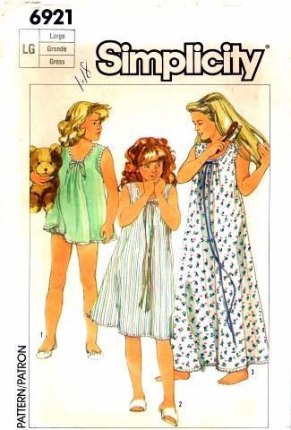 Simplicity 1985 6921