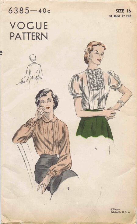 Vogue 1948 6385