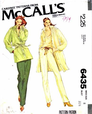 McCalls 1979 6435