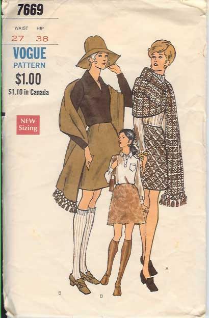 W-7669V 1970s Mini-skirt-sh