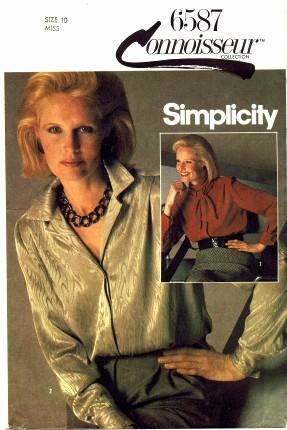 Simplicity 1984 6587