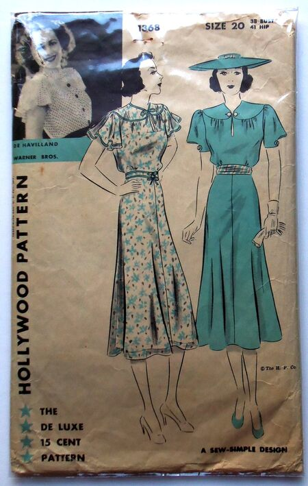 Hollywood pattern 1368 orig