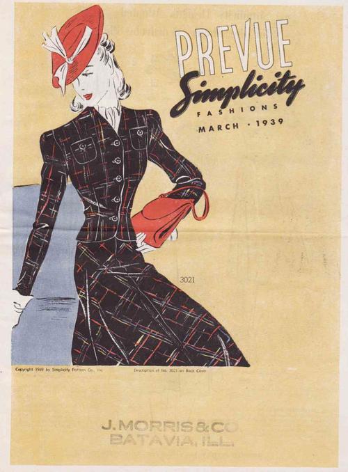 Simplicity Prevue March 1939