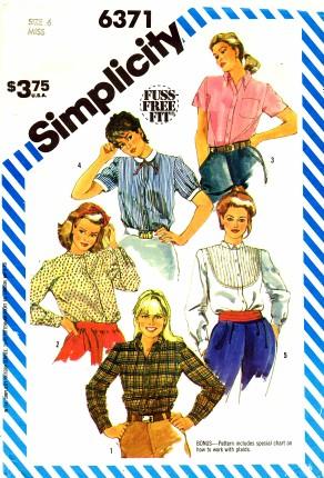 Simplicity 1983 6371