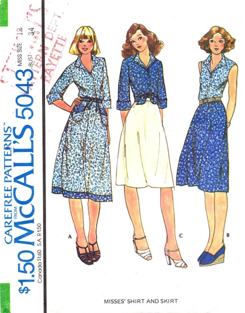 McCalls 1976 5043