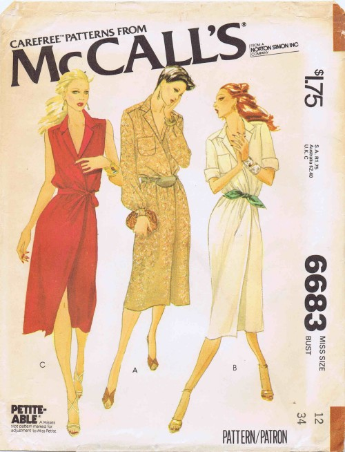McCalls 1979 6683