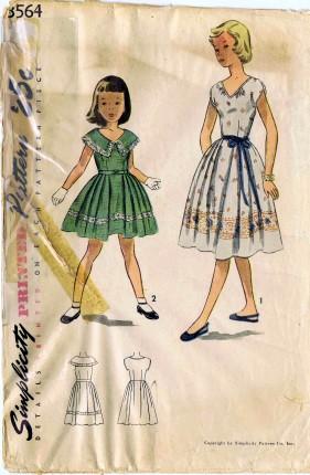 Simplicity 1951 3564