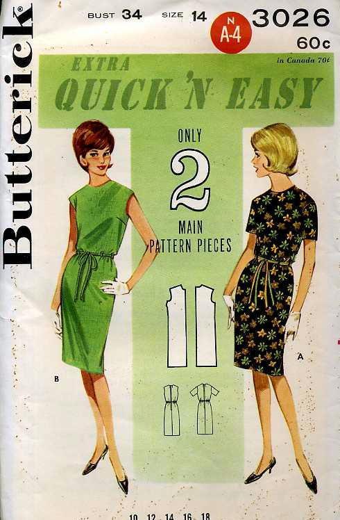 Butterick 3026