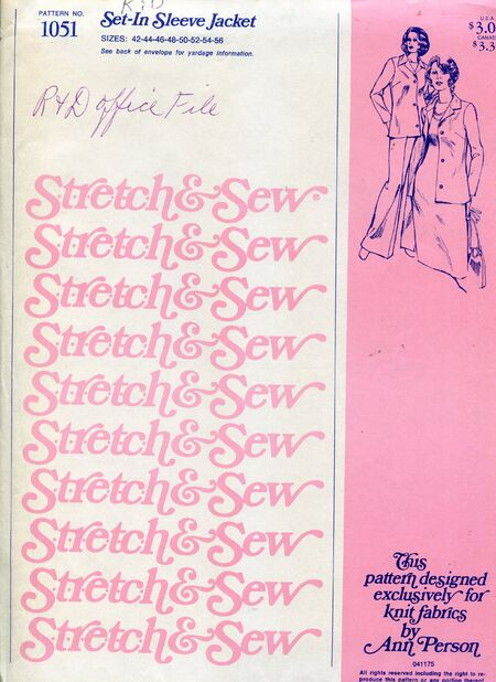 Stretch&sew1051
