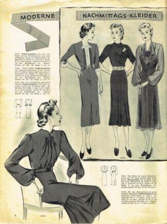 Praktische Damen und Kinder Mode 1938 0008