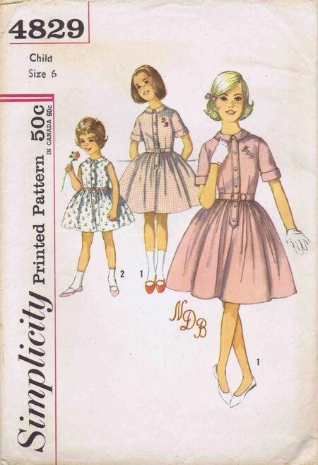 Simplicity 1963 4829