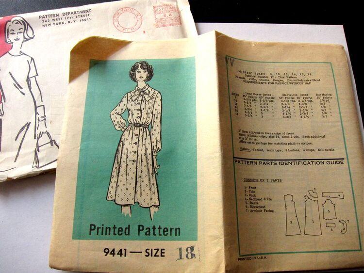 Vintage Mail Order Pattern 05158