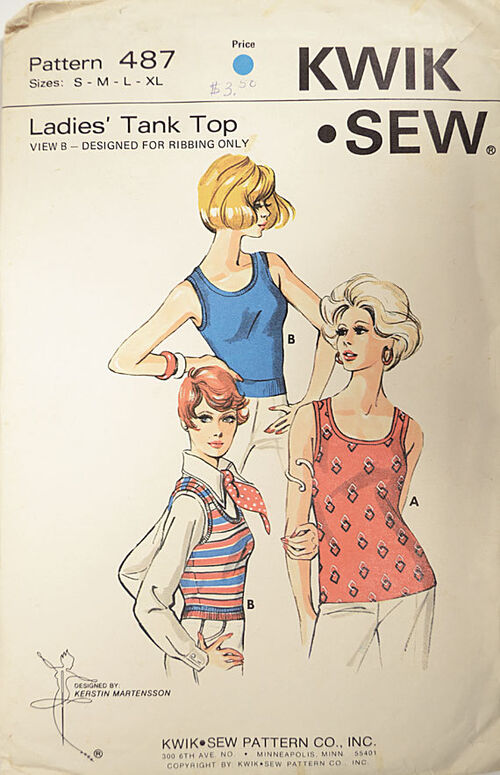 Kwik Sew 487