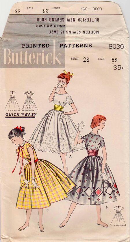Butterick 8030