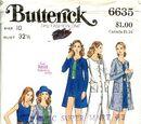 Butterick 6635 A