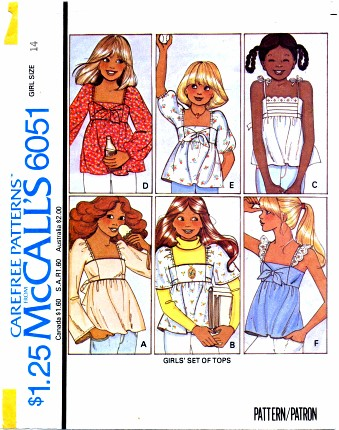 McCalls 1978 6051