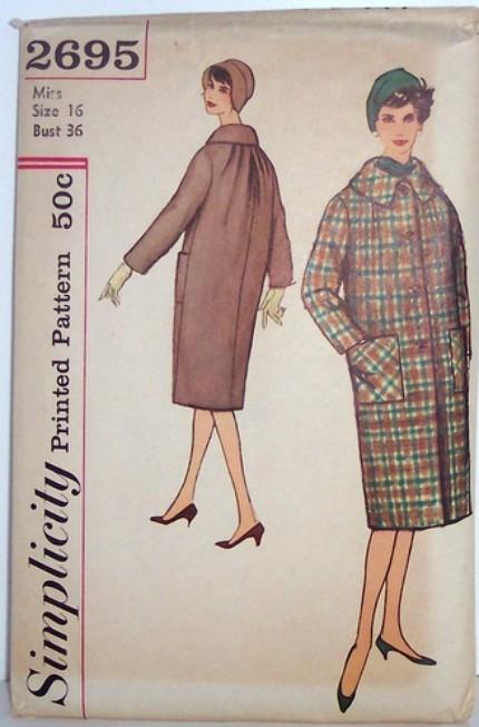 Vintage Simplicity Pattern 2695