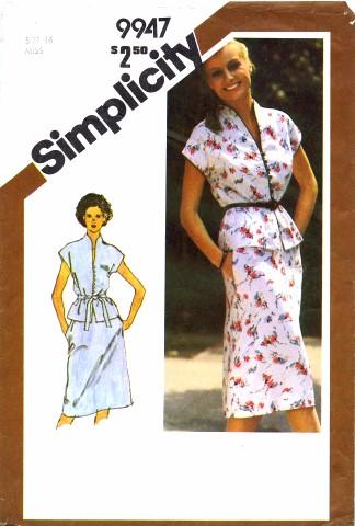 Simplicity 1981 9947