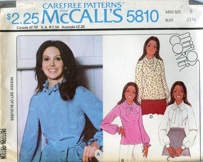 Mccalls5810blouse