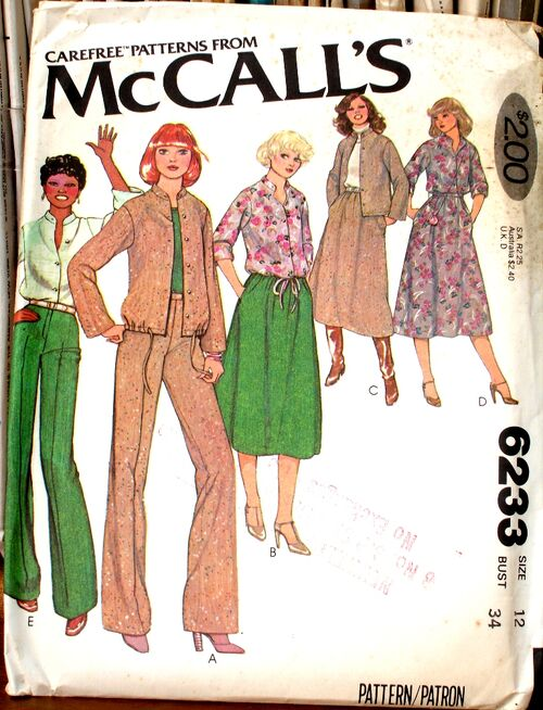 McCall's 6233 A image