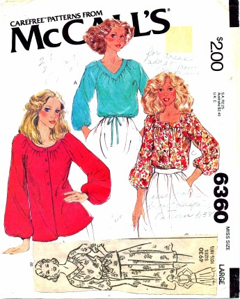 McCalls 6360