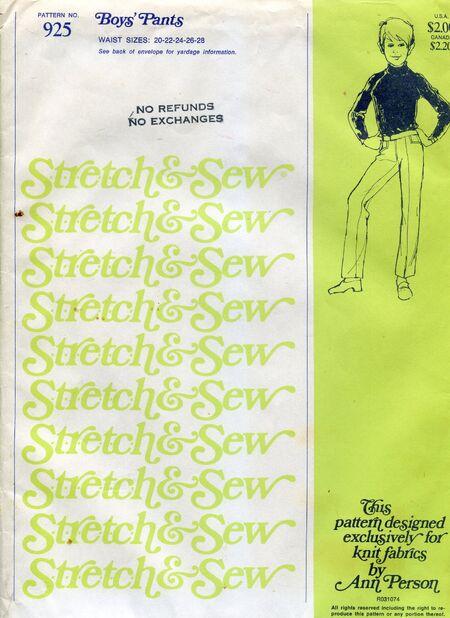 Stretch&sew925