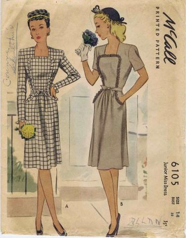 McCall 1945 6105