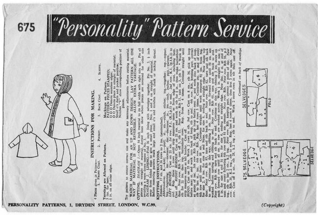 Personality Pattern Service 675