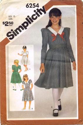 Simplicity 1983 6254