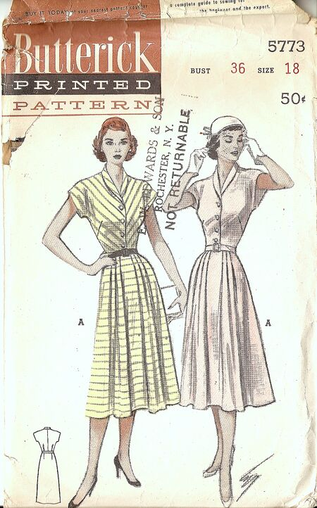 Butterick 5773 image