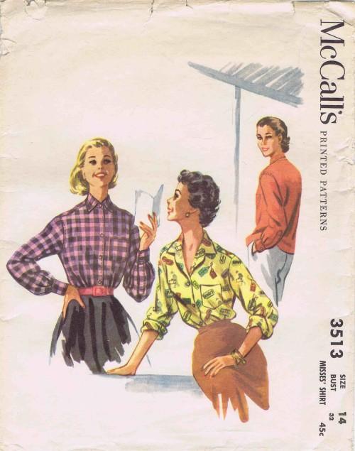 McCalls 1955 3513