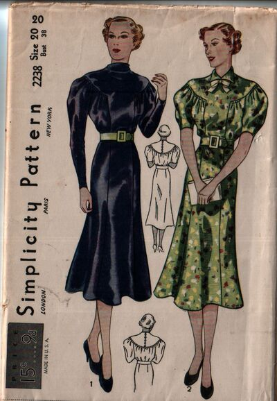 Simplicity 2238 front