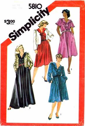 Simplicity 5810