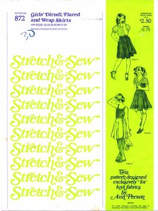 Stretch & Sew 872