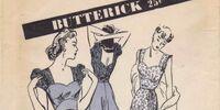 Butterick 3018 A